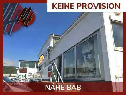 KEINE PROVISION ✓ NÄHE ÖPNV ✓ NÄHE BAB 5 ✓ Attraktive Verkaufsflächen (190 m²) zu vermieten
