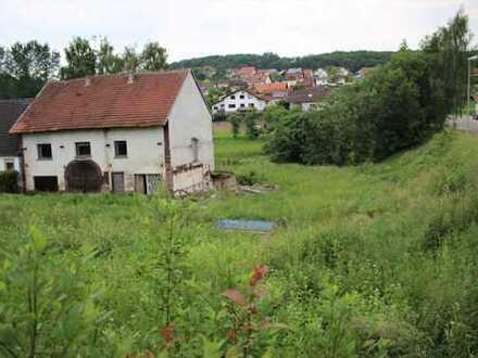Baugrundstück mit Abrisshaus in Breitenbach