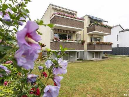 Wohnen und Arbeiten im selben Haus | Hochparterre- und Souterraineinheit mit grünem Garten