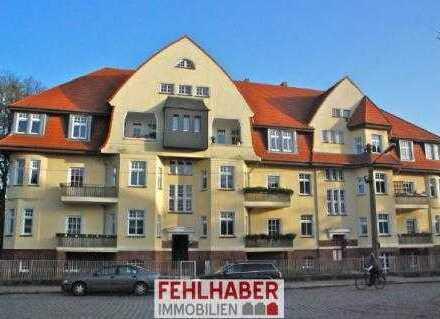 Luxus neben dem Theater - Altbauwohnung mit 2 Balkonen und Stellplatz in Nördlicher Mühlenvorstadt