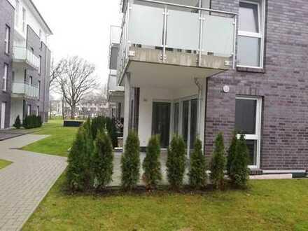 Barrierearme 3 Zimmer Wohnung im Erdgeschoss mit großer Terrasse
