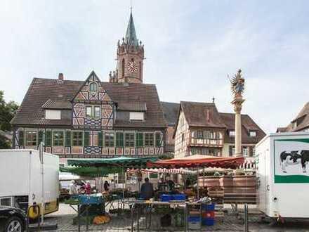 Erstbezug im historischen Ortskern Ladenburgs