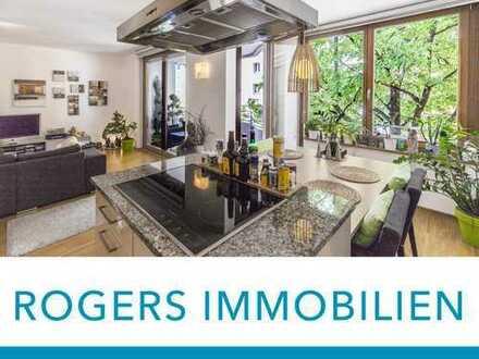 ROGERS: Nur ein Katzensprung von der Isar: Neuwertige Wohnung mit sehr guter Ausstattung