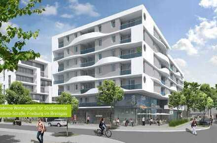 2 Zimmer Studentenwohnung // Neubau // Zentrale Lage in Uni-Nähe // WE 58