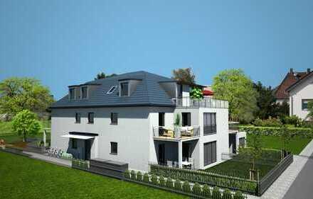 2-Zimmer-Dachgeschosswohnung mit sonniger Dachterrasse
