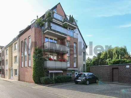Wohnen in Toplage: Gepflegte 2-Zi.-Whg. mit 2 Balkonen, ruhig gelegen nahe der Fußgängerzone