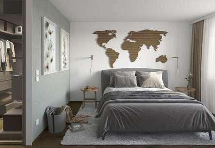 Exquisite 4-Zi.-DG-Wohnung mit Ankleide, 2 Bädern + Loggia // Beratung vor Ort: Sonntags 10-12 Uhr