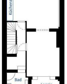 Kernsanierte 3 Zimmer Maisonettewohnung in Osterfeuerberg – bei der Union Brauerei um die Ecke