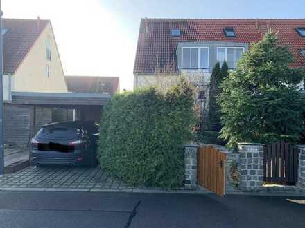 gepflegtes 4-Zimmer-Reihenendhaus zur Miete in Borsdorf