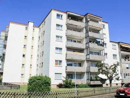 Helle renovierte 3-Zimmerwohnung mit Loggia in Erlensee