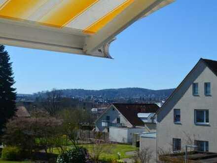 Schöne ruhige 3 Zimmer Maisonette Wohnung in Schildesche mit Blick über Bielefeld