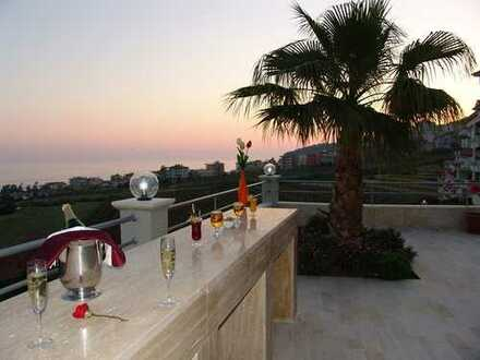 ***Tolle Wohnung mit Panoramablick in Alanya / Kleopatra Strand, Türkei***