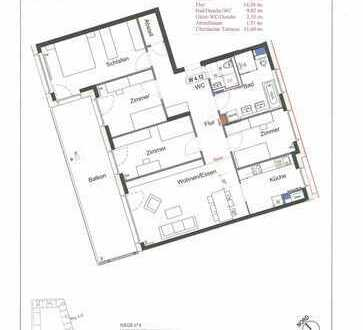 Penthouse 5-Zimmer, zentral & im Grünen; Provisionsfrei