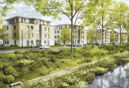Gönnen Sie sich eine Neubauwohnung mit viel Grün drumherum - Wohnen am Blies-See