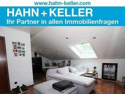 Ideal aufgeteilte 2-Zimmer-DG-Wohnung für Kapitalanleger oder den stilbewussten Single!