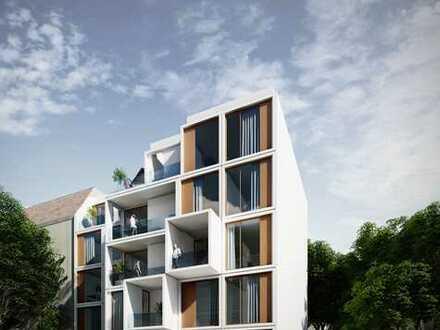 Optimal geschnittene Wohnung im Gartenhaus mit 4 Zimmern und Loggia im Neubauprojekt, barrierefrei