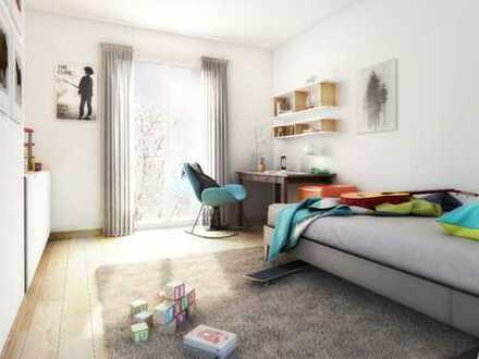 Wohlfühlen für die ganze Familie! 4-Zimmer-Wohnung mit 2 Bädern und Süd-Balkon