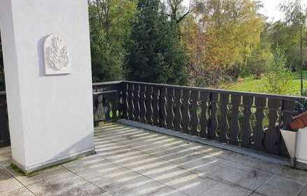 Gepflegte 4-Zimmer-Wohnung + Küche Bad mit großer Dachterrasse in Höchst im Odenwald
