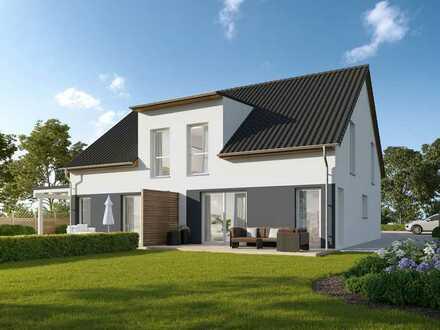 Baugrundstück für Doppelhaushälfte in Blankenfelde