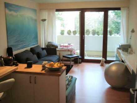 Gepflegte 1-Zimmer-Wohnung mit Balkon und Einbauküche in Heidelberg-Handschuhsheim