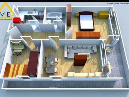 Klassicher Grundriss im großem Wohnhaus *klasse Aussicht*