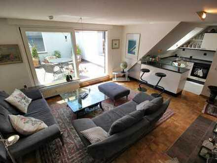Zum Verkauf- charmante Maisonette-Wohnung mit schöner Sonnenterrasse