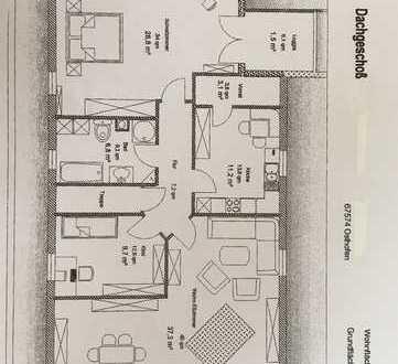 Schöne, geräumige drei Zimmer Wohnung in Osthofen