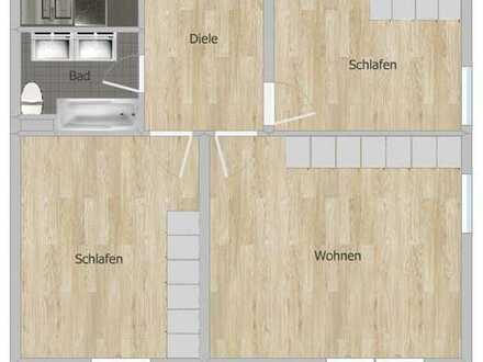 Große 3 Zimmer Wohnung im 2. OG OHNE LIFT