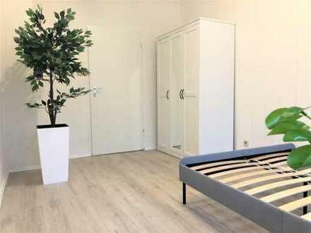 möbliertes WG-Zimmer mit neuer Einbau-Küche in Nürnberg Sankt Joh