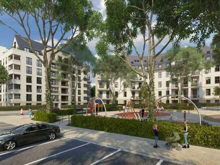 Ihre Oase in beneidenswerter Innenstadtnähe: 3-Zimmer-Gartenwohnung auf ~100m² mit 2 Terrassen