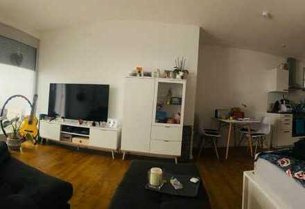 Geräumige 1-Zimmer-EG-Wohnung mit EBK und FBH im Neubaugebiet