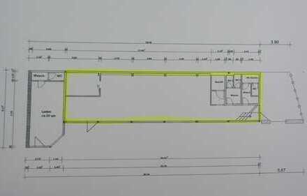Frequenzstarke Verkaufsfläche neben Stadtwerken zu vermieten