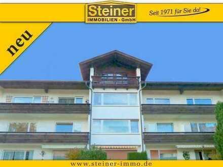 3-Zimmer-Wohnung ca. 100 m² 2. OG, Ost-Süd-Lage, großer Balkon, Keller