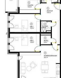 Attraktive 4-Zimmer-Wohnung mit 2 Balkon in Adelsried