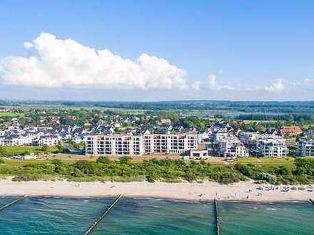 3.OG, großer Südbalkon, herrlicher Fernblick und nur 30m vom Strand! Sofort nutzbar!!