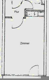 Super Lage-Nymphenburg - 1-Zimmer-Wohnung mit Süd-Balkon