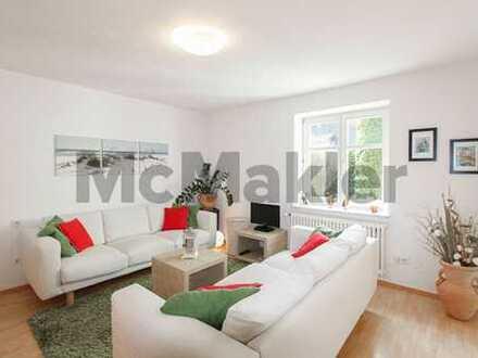 Stilvoll möblierte EG-Wohnung mit eigenem Garten, Wintergarten und Terrasse vor den Toren Münchens