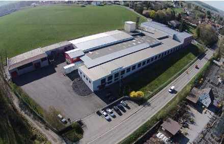 4000 m² verfügbar mit Laderampen! Gewerbeimmobilie für Logistik und Produktion - Direkt an A73