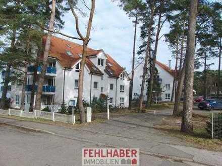 1.Reihe und unverbaubarer Wasserblick - 3-Zimmer-Eigentumswohnung im Seebad Lubmin