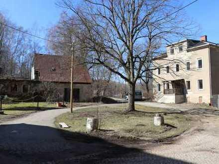 landwirtschaftliche Flächen mit 3 sanierungsbedürftigen Wohnhäusern