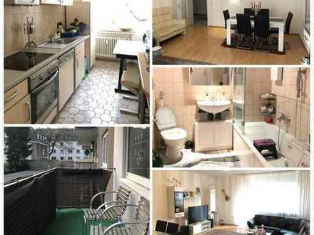 ***INNENSTADT-SÜD-Gepflegte Wohnung mit Balkon, Laminat, Fliesen & Duschbad***
