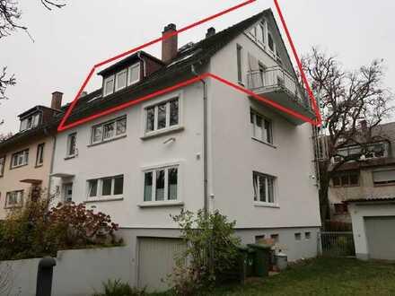 Wohnen in Bestlage: Helle 5-Zi-Maisonettewohnung, Ettlingen - Vogelsang