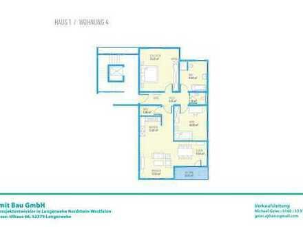 Drei Zimmer OG-Wohnung H1W4