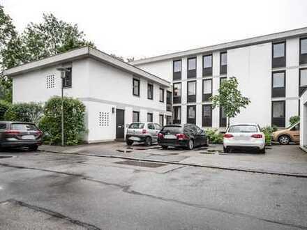 Charmantes 1-Zi.-Appartement direkt an der Isar mit Terrasse und Gartenanteil in Landshut