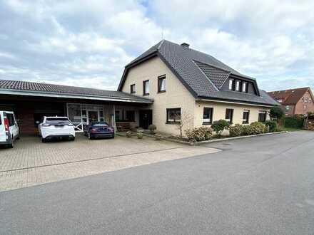 Gewerbebetrieb mit Wohnhaus in zentraler Lage von Recke zu verkaufen