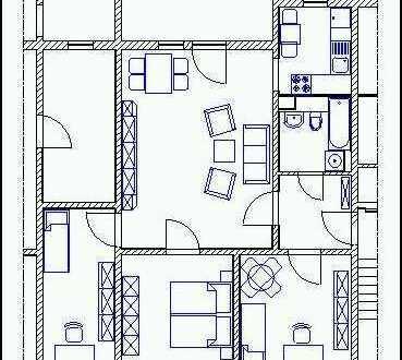 Zweites Kinderzimmer, Moderne 4-Raumwohnung auf dem Land