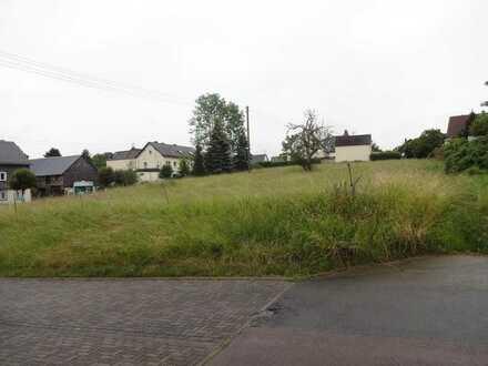 großer Bauplatz in zentraler Lage von Holzhausen zu verkaufen