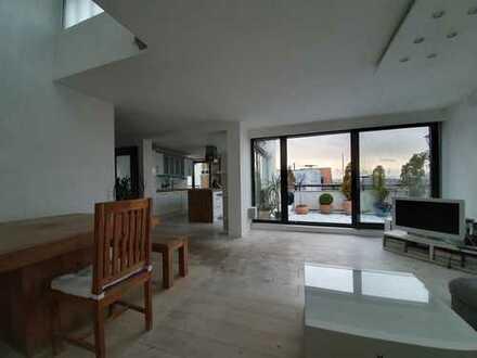 Wohnung im Penthouse-Stil