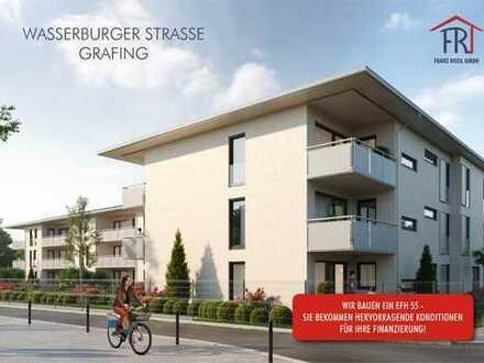 Gemütlichkeit sofort: 2-Zimmer-Wohnung mit Balkon in Grafing