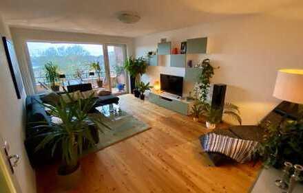 Lichtdurchflutete und modernisierte Wohnung zum Sofortbezug!!!